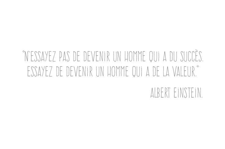 Citation Albert Einstein