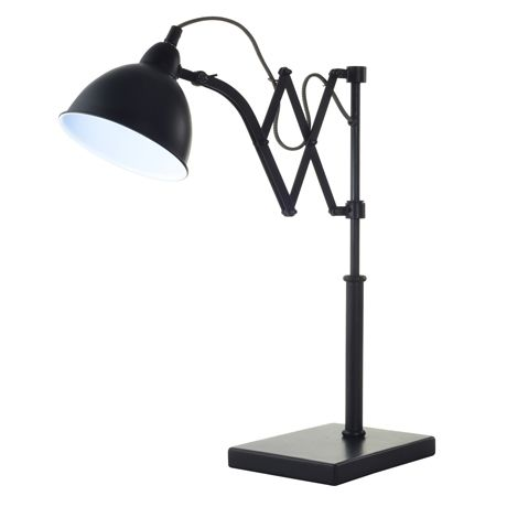 freedom furniture lighting. accordion table lamp 52cm black freedom furniturecity furniture lighting o