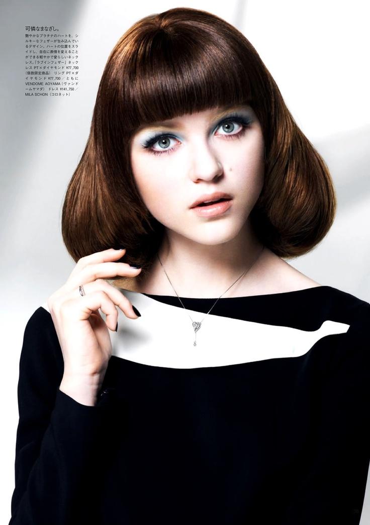Rasa Zukauskaite by Kaz Arahama for Vogue Japan December 2012