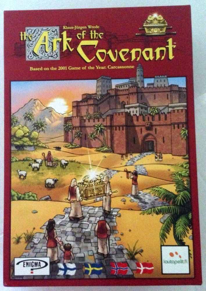 Ark of the Covenant RARE #Scandinavian Version Boardgame Family Board Game  #Enigma #ArkoftheCovenant #KlausJurgenWrede