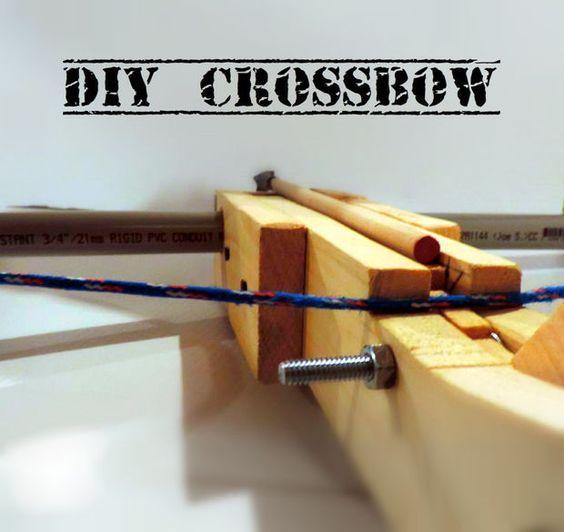 24 Best Pvc Weapons Images On Pinterest Crossbow Arrow