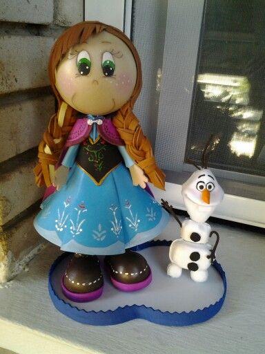 Ana de frozen Fofuchasdemama@hotmail.es