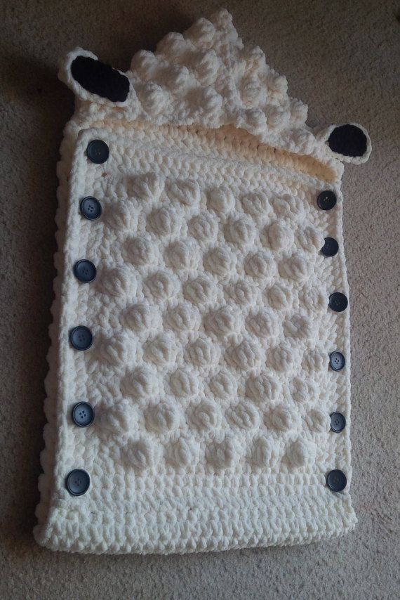 Sheep Baby Sleep Sack by WithLovebyAlicia on Etsy