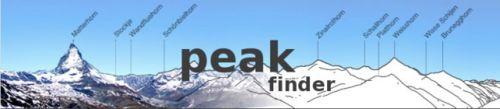 HERRAMIENTAS: Peak Finder, identificando las cumbres.  Brujuleando el otro día por ahí me tropecé con un programa gratuito súper útil e interesante para tipos como yo que les encanta reconocer el paisaje que ven y darle nombre a las cosas, pero que también puede ser útil a fotógrafos, deportistas, guías y en definitiva a cualquiera que necesite identificar los elementos principales de un paisaje de montaña como son sus cumbres.