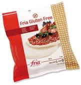 Glutenfrie (og melkefrie!) pizzabunner. Finnes i frysedisken i velassorterte dagligvarebutikker/helsekost.