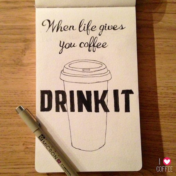 When life gives you coffee....
