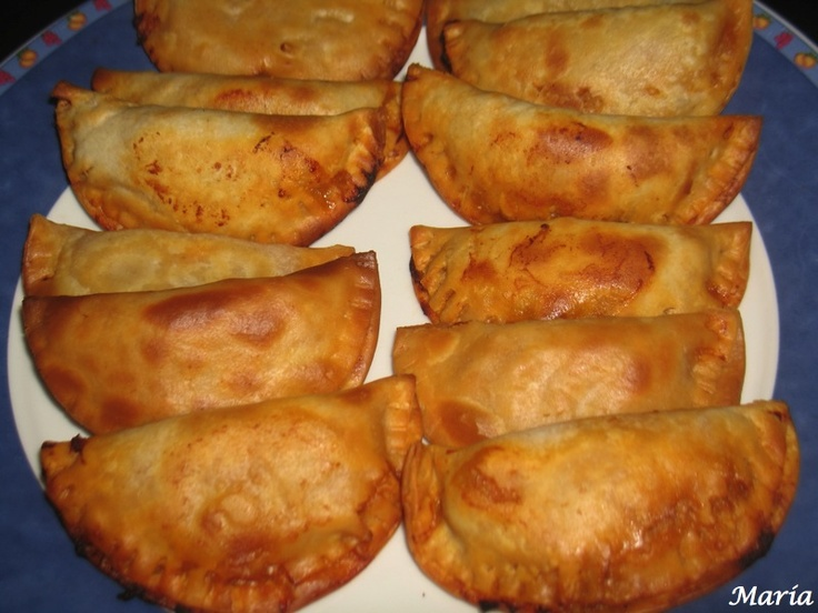 empanadillas Actifry. I could eat like 20 of these, they are so good