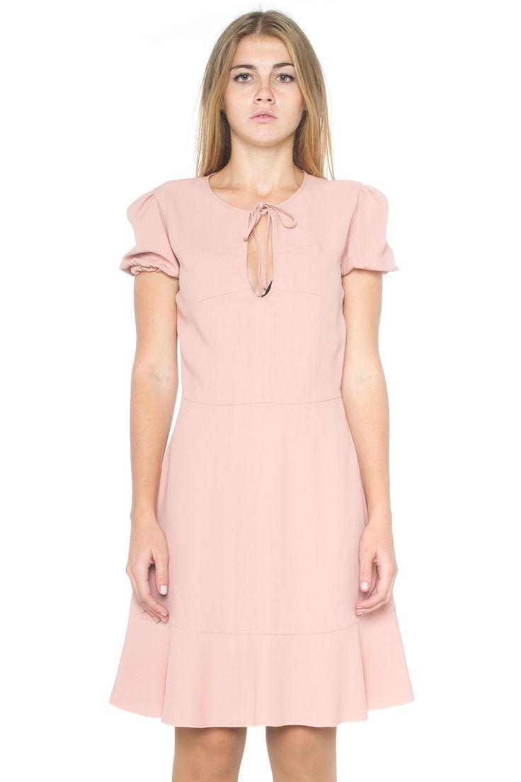 Crêpe dress - Euro 410   Red Valentino   Scaglione Shopping Online
