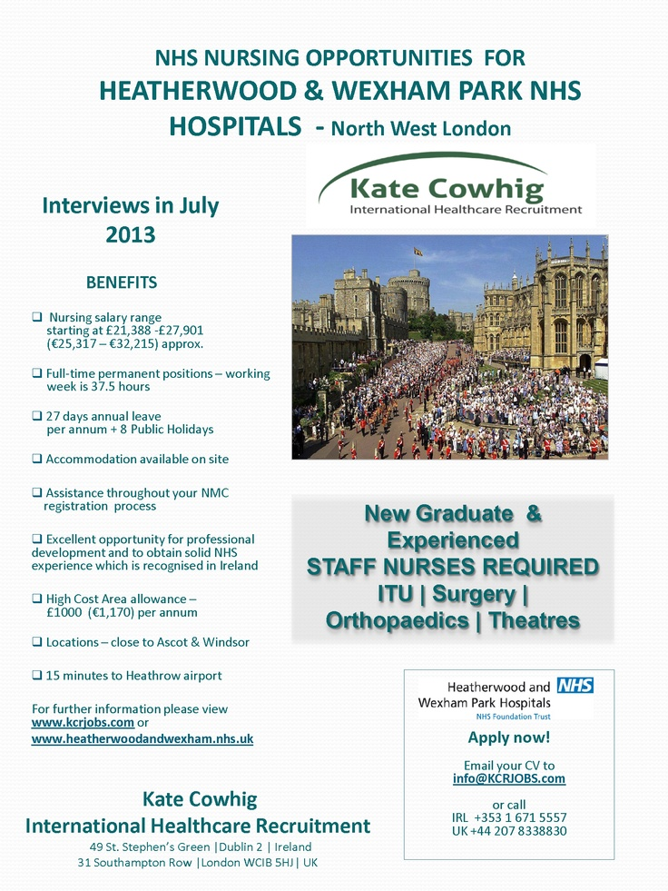 North London NHS Hospital looking for ITU | Surgery | Orthopaedics | Theatres nurses - Email CV today to info@KCRJOBS.com
