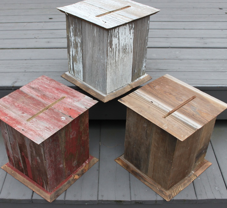 wood wedding card holders%0A Barnwood Wedding Card Boxes now on sale on our site  www theperfectcardbox com qtys