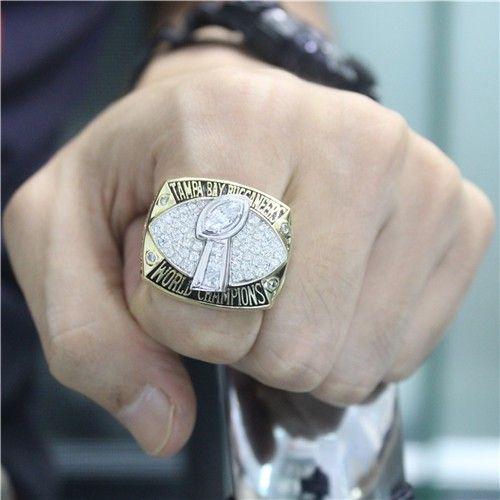 Custom 2002 Super Bowl XXXVII Tampa Bay Buccaneers Championship Ring - Super Bowl Rings - Customized