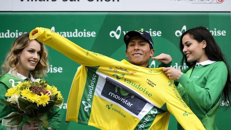"""TOUR DE ROMANDIE - Nairo Quintana a remporté, dimanche, le Tour de Romandie à l'issue de la 5e et dernière étape remportée par Michael Albasini à Genève. Thibaut Pinot (FDJ) a pris la 2e place au général, à 19"""" du vainqueur de l'épreuve. Tour de Romandie..."""