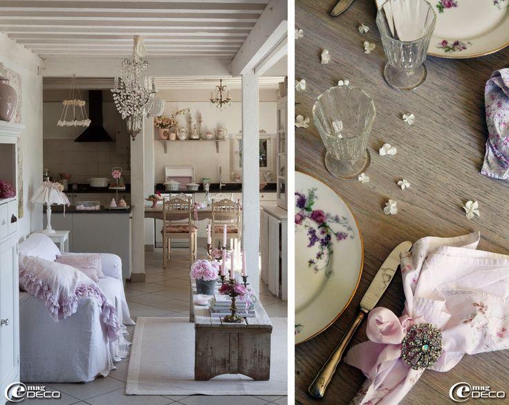 Plus de 1000 id es propos de grange de charme douce tania sur pinterest m - Decoration shabby en ligne ...