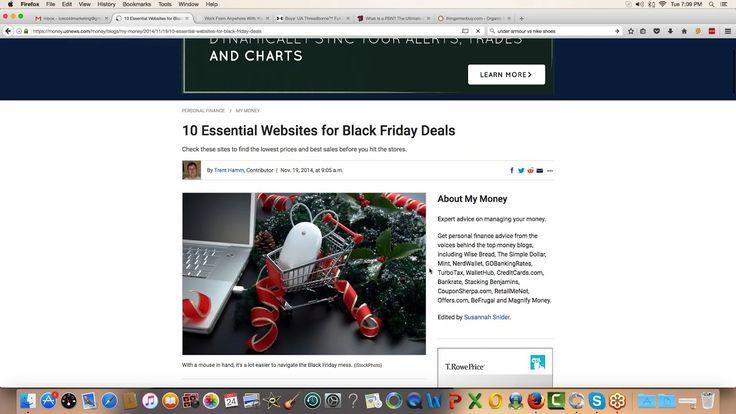 Affiliate Marketing Training on How to Make Money on Black Friday https://youtu.be/5RNW6MnefyI