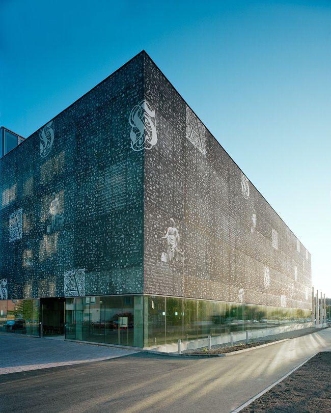 Hämeenlinna Provincial Archive  Finland    by Heikkinen-Komonen Architects  2009