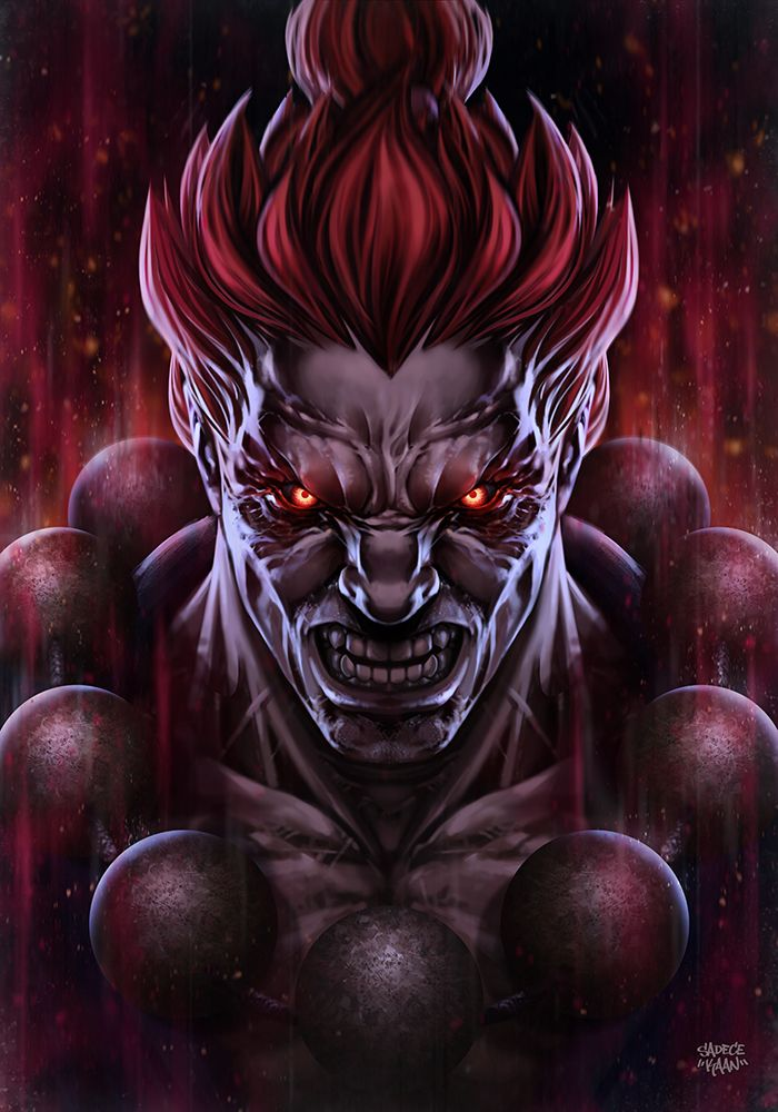 AKUMA - Street FighteR by sadeceKAAN.deviantart.com on @DeviantArt