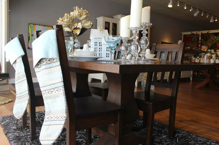 "Urban Country Trestle Table 72"" x 42"""