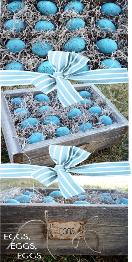 Make an Egg Crate for Easter