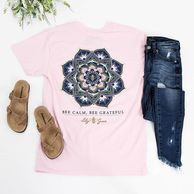 Shop preppy t-shirts, like this cute style from Lily and Grace, online at Glik's!
