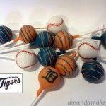 Detroit Tigers Cake Pops - Amanda Makes Cakes