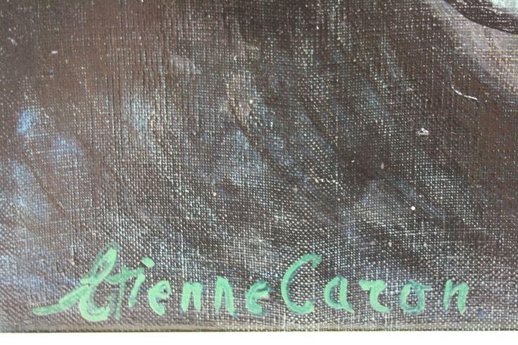 Handtekening, Etienne Caron