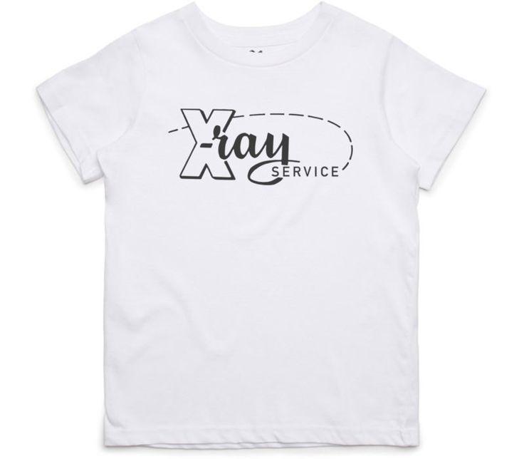 El Cheapo X-Ray Service (Black) Youth White T-Shirt
