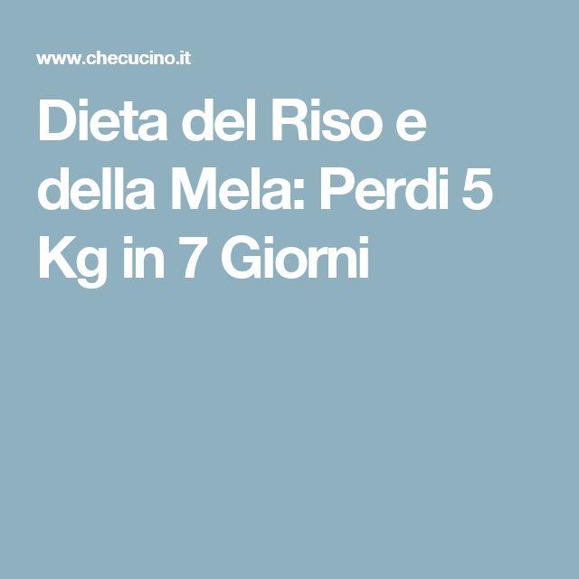 Dieta del Riso e della Mela: Perdi 5 Kg in 7 Giorni