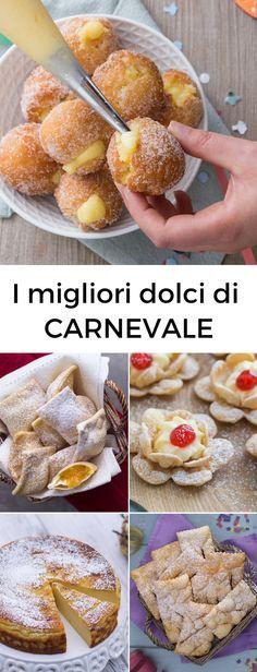 Chiacchiere, bugie, castagnole, frittelle, tortelli... tante ricette di Carnevale, fritte e al forno!