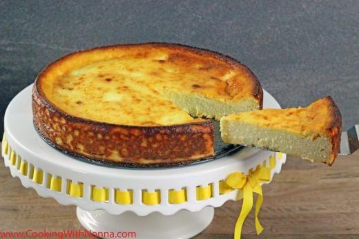 Nonna's Ricotta Cheesecake