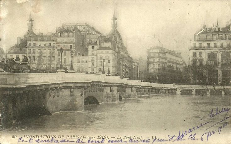 Paris Pont Neuf Ponts De Paris Pont Paris Paris Paris 1900