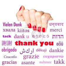 gracias en Diferentes idiomas - Búsqueda de Google