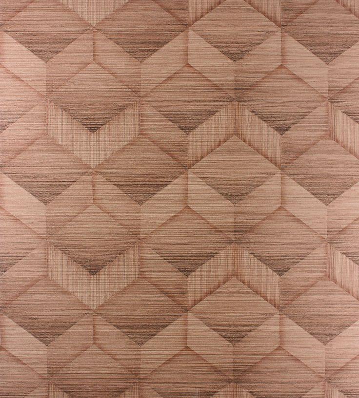 70s Interior Design Revival | Parquet Wallpaper by Osborne & Little | Jane Clayton