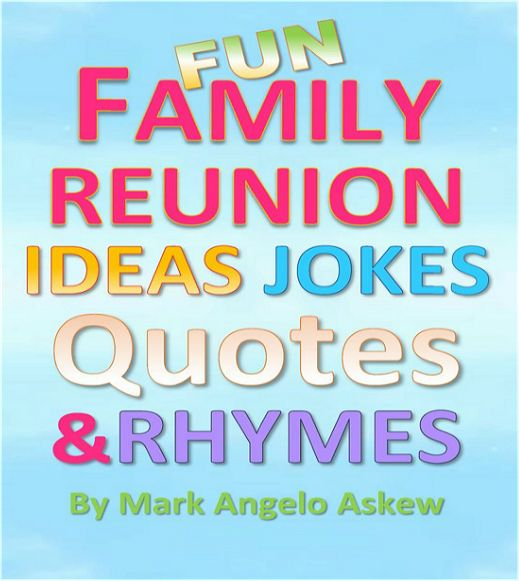 Funny Family Quotes And Sayings: NEW, FUNNY #ReunionPlanning BOOK
