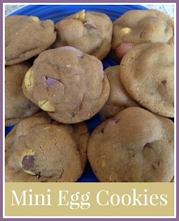 Recipe for Easter Mini Egg cookies