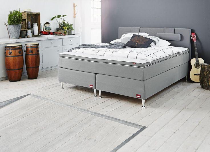 Sänkyjen aatelia TEMPRAKON ja ihanat uudet ANANTA pussilakanat #makuuhuone #bedroom #sleepingexpert