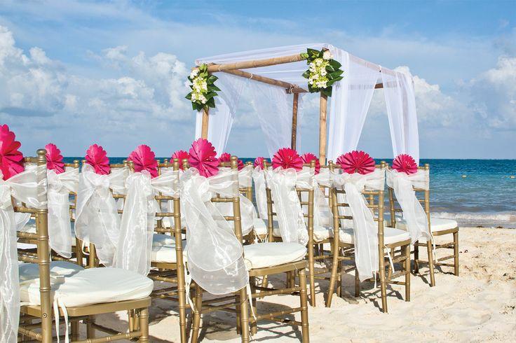 Beach Wedding Ceremony Decorations: 290 Best Summer Weddings Images On Pinterest
