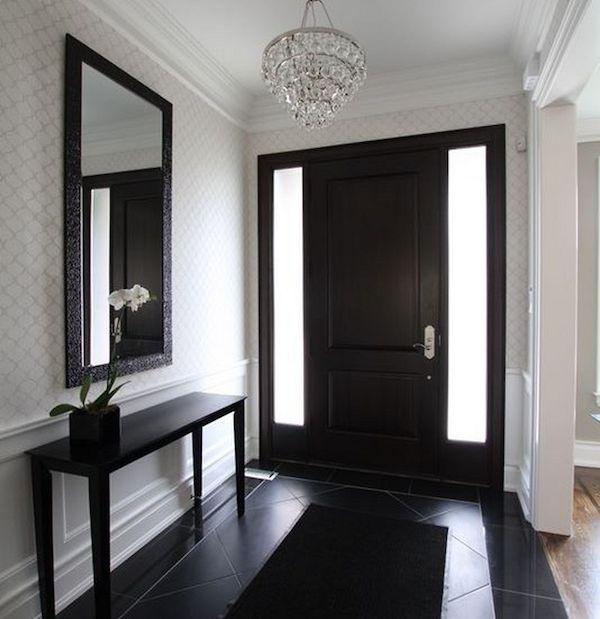 25+ Best Ideas About Black Entry Doors On Pinterest