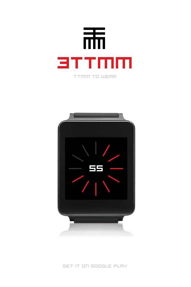 3TTMM to Wear. Watch face for #AndroidWear