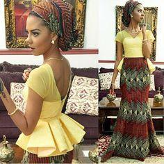 #wax, #ankara, #africanprint, #ethnotendance www.cewax.fr a sélectionné pour vous : ~African fashion, Ankara, kitenge, African women dresses, African prints, Braids, Nigerian wedding, Ghanaian fashion, African wedding ~DKK