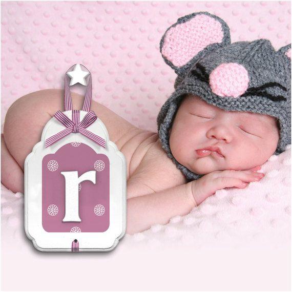 Custom Nursery Wooden Letters Baby Boy Girl by GuguForBabyKids