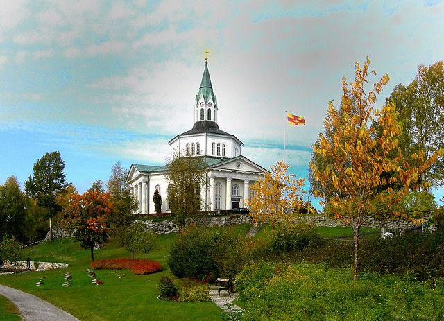 Själevads kyrka (Själevad church), Själevad, Örnsköldsvik, Sweden | Flickr…