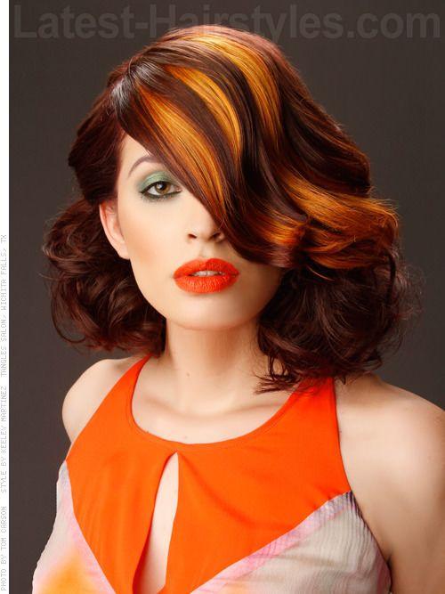16 best Orange ombre on dark hair images on Pinterest ...