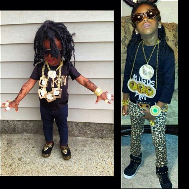 Migos kids halloween kid costume | Halloween costume ...
