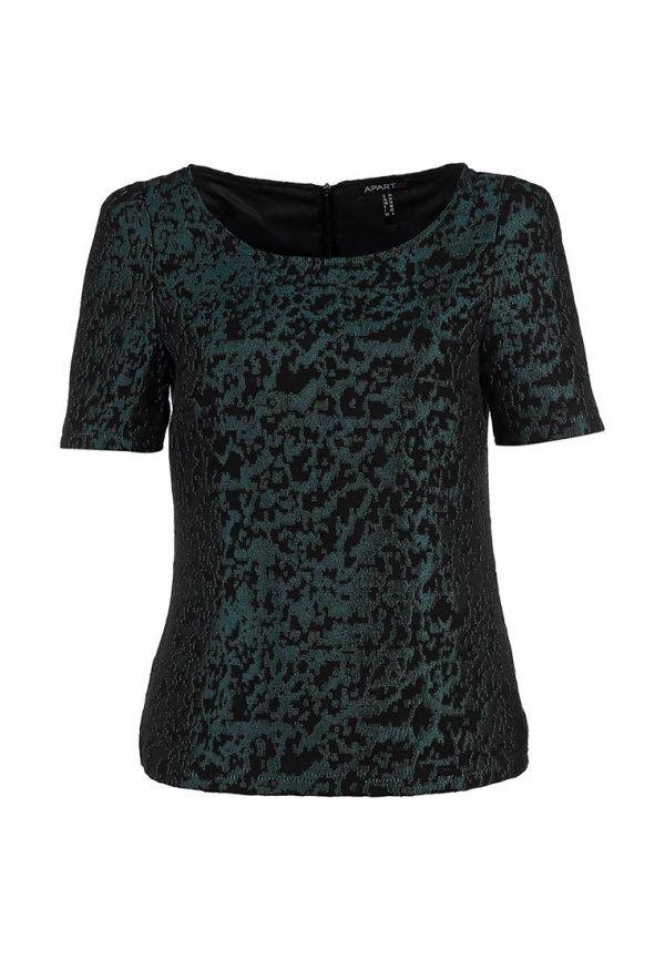 Блуза Apart женская. Цвет: зеленый. Сезон: Осень-зима 2013/2014. С бесплатной доставкой и примеркой на Lamoda. http://j.mp/UUGfv4