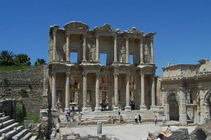 The city of Ephesus was one of the most important and largest cities of the ancient world. According to ancient sources the city of Ephesus was founded several times.
