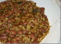 Daniel Fast friendly Red Beans & Rice! Vegan Gluten, Free, low calorie (200 calories per serving)