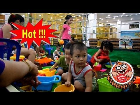 Children practice of driving cars ***  Recreation Center  *** Children's...