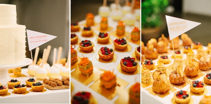 Dessert table at a wedding by The Birdcage Tea Bar- photo taken by welovepictures