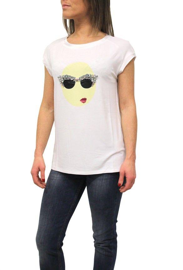 T-shirt Liu-Jo P15019 J7300 Snow White