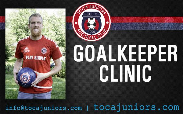 #GOALKEEPER CLINIC with Travis Worra   FROM JULY 5 TO JULY 31 GIRLS & BOYS (AGES 8 TO 18)    REGISTER TODAY! 💻 www.tocajuniors.com 📧 info@tocajuniors.com  #join #GK #Goalkeeping #training